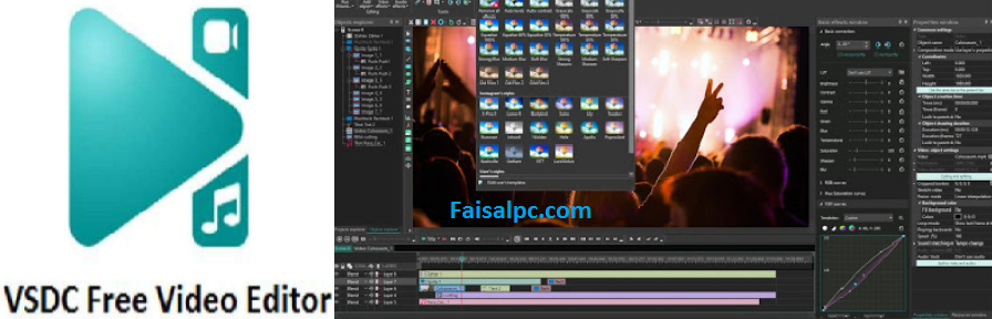 VSDC Video Editor Pro 6.5.2.204 Crack With Activation Key Full [2020]